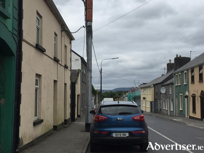 The houses at High Street, Ballinrobe.