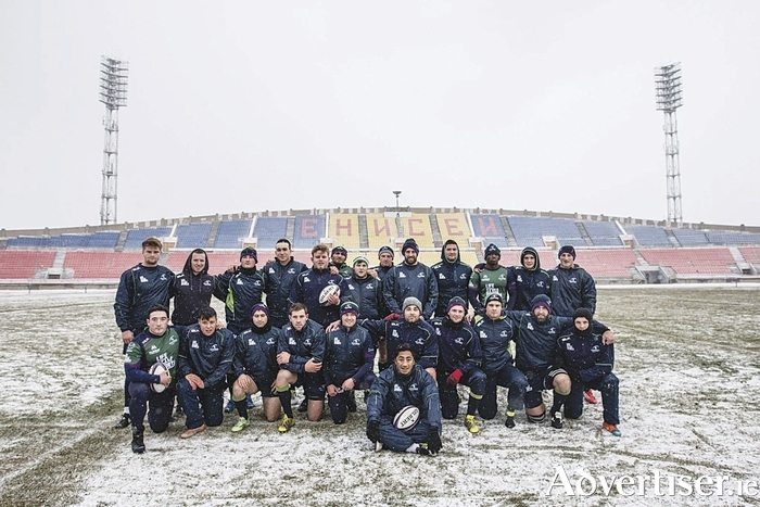 Game day in Siberia: The Connacht squad that took on Enisei-STM, temperatures of -26, a 12,000km trip through seven time zones, and three days delay - and still came out on smiling.