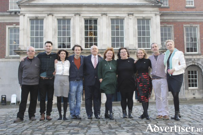 2020 team at Dublin Castle
