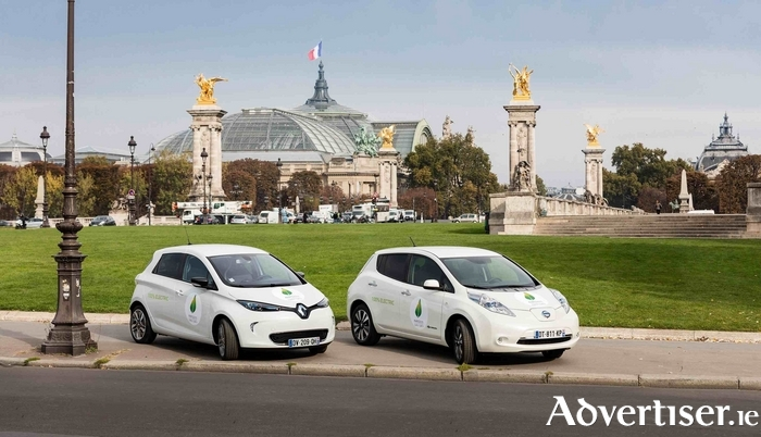 Largest electric car fleet - Renault-Nissan.