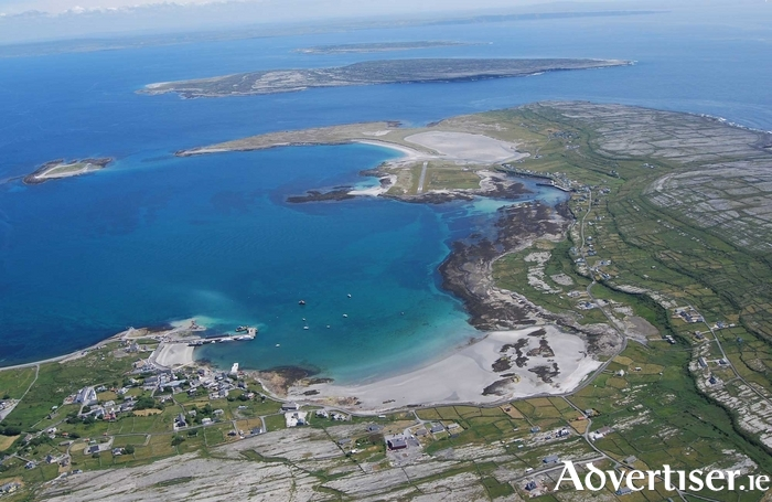 The Aran Islands.