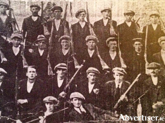 Claregalway volunteers from the 1916 - 21 period.