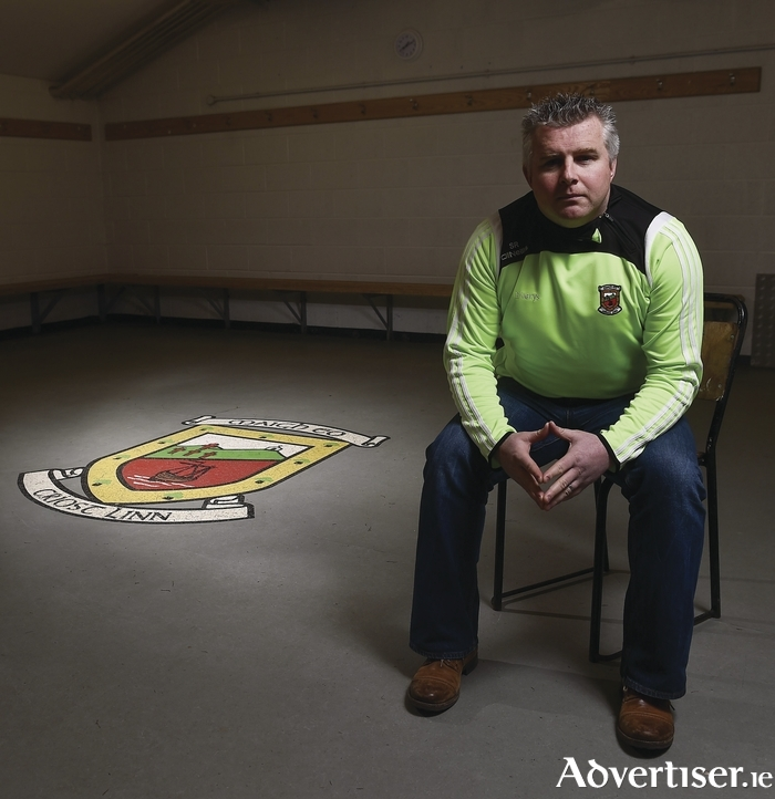 In the hot seat: Stephen Rockford is ready to hit the ground running with Mayo. Photo: Sportsfile