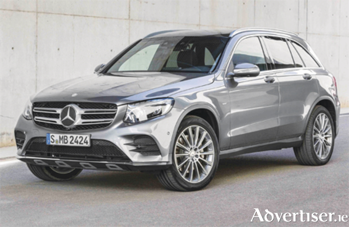The Mercedes-Benz GLC 350e 4MATIC EDITION 1 in Selenite Grey, AMG line