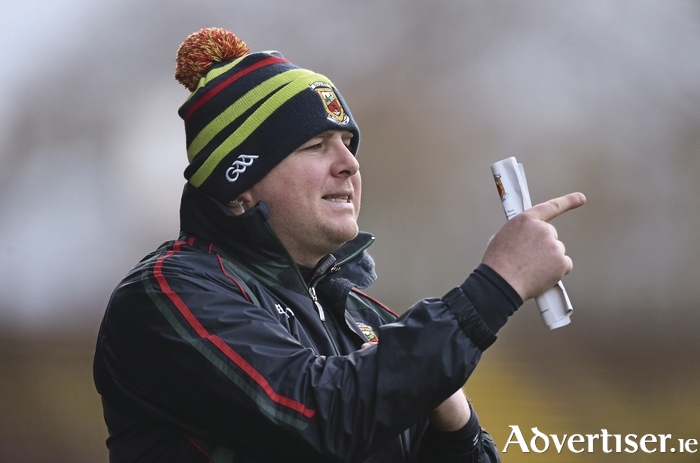 Looking forward to the next one: Mayo manager Stephen Rochford is looking forward to Mayo's game on Sunday. Photo: Sportsfile