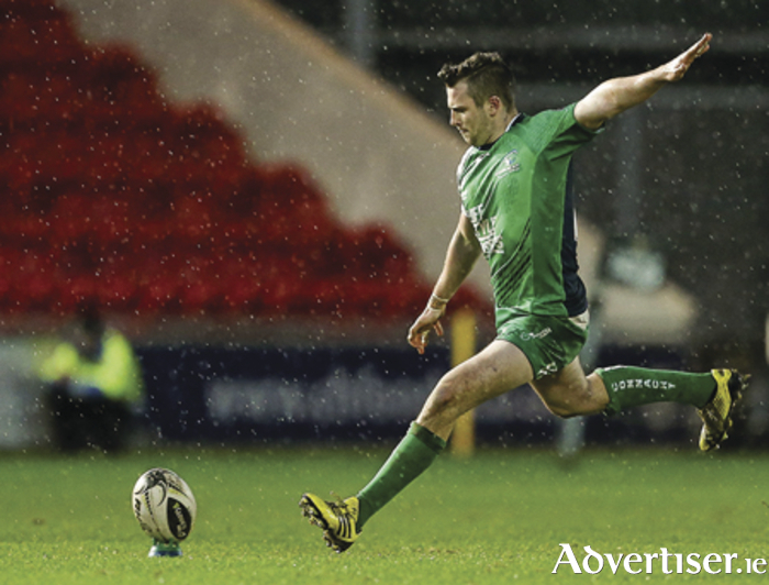 Connacht outhalf Jack Carty who was on song with his boot against Scarlets.