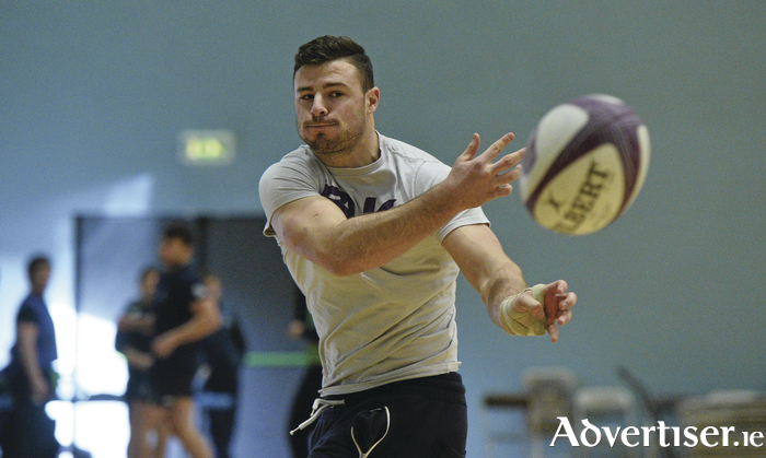 Connacht's Robbie Henshaw was back in squad training with Connacht during the week. Photo: Sportsfile