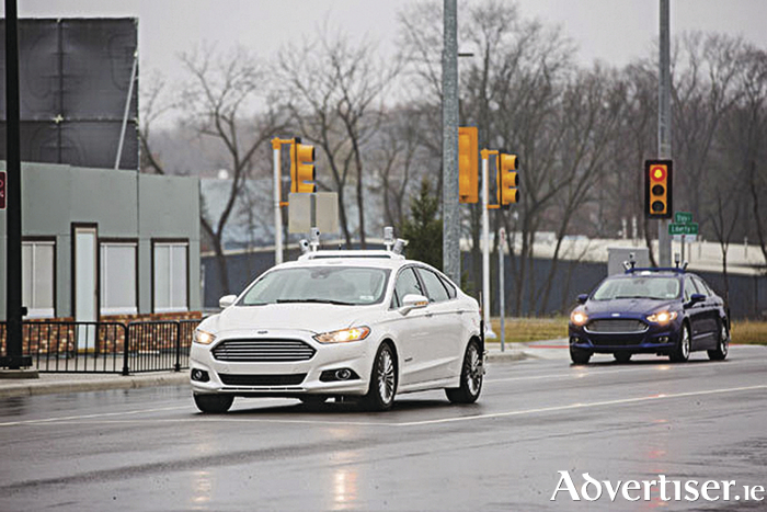 Ford's autonomous fleet development continues.