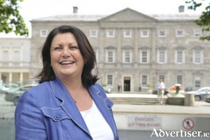 Maire Geoghegan Quinn, still one of only two Galway based female candidates to be elected to Dáil Éireann.