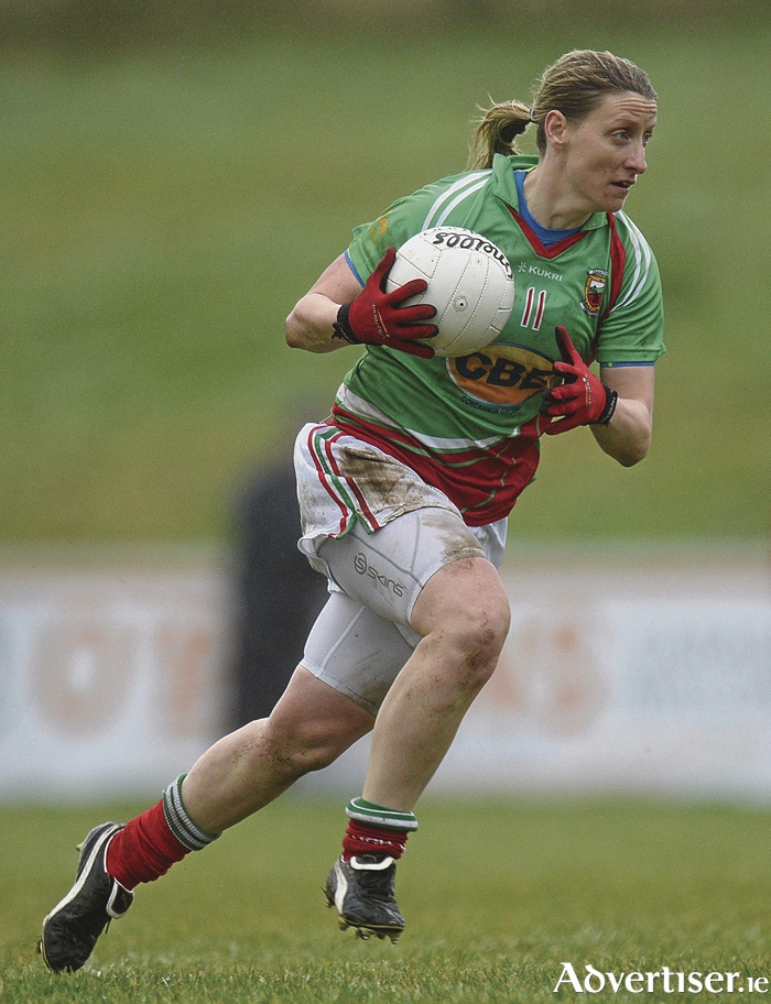 Leading lady: Cora Staunton was on top form last Sunday as Mayo saw off Cork in their league opener. Photo: Sportsfile