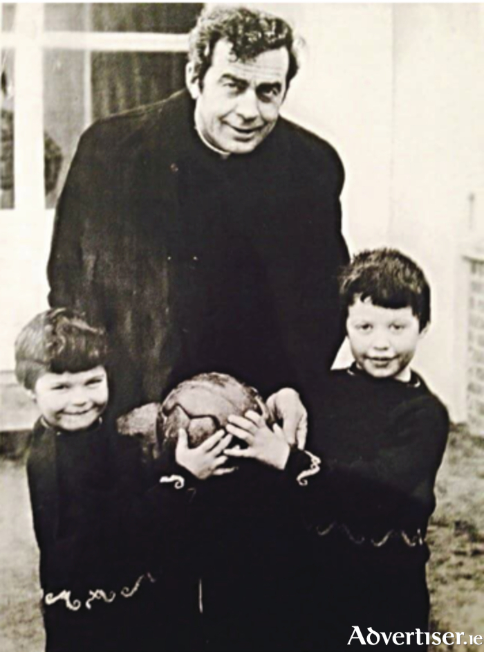 The late Fr Peter Quinn who won two All Ireland senior medals with Mayo in 1950 and 1951.