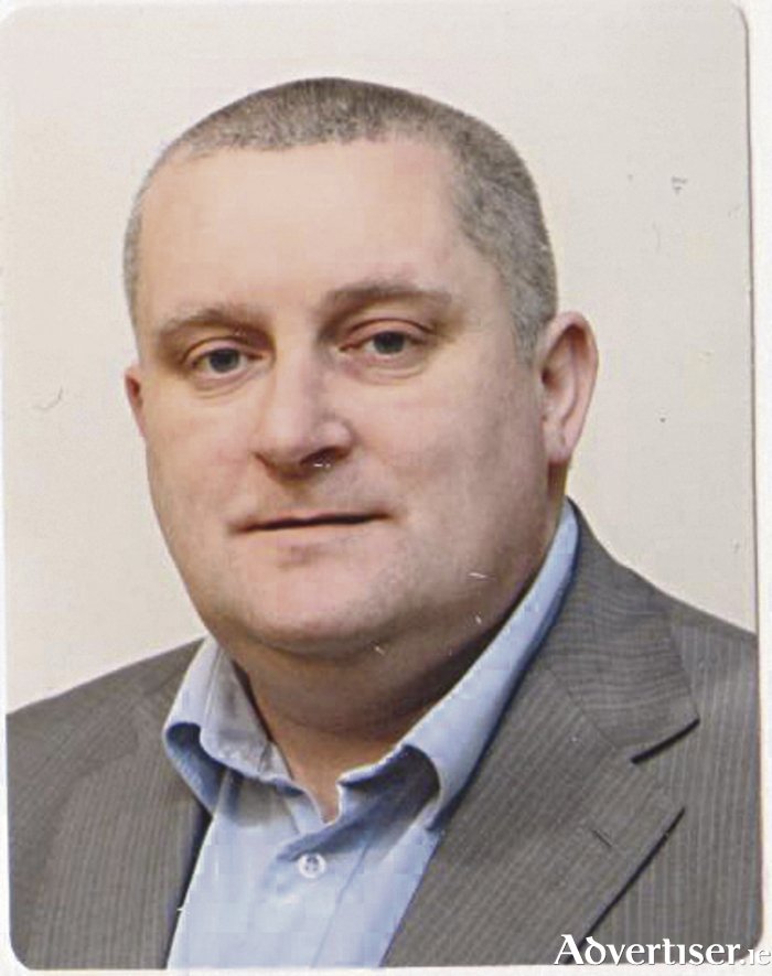 Independent candidate Gerry O'Boyle