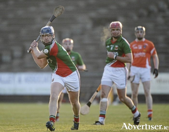 Back of the net: Kenny Feeney scored 1-5 for Mayo for Mayo in their win over Donegal on Sunday. Photo: Sportsfile