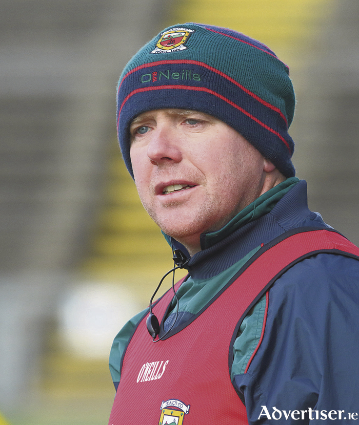 Winning start: Mayo hurling manager JP Coen is hoping that his team can keep up winning ways this week. Photo: Michael Donnelly