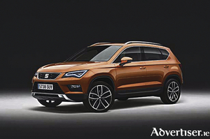 Seat's new entrant into the SUV market - the Ateca.