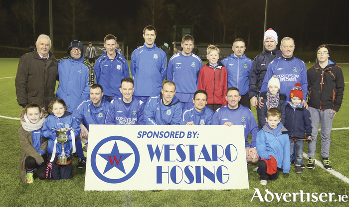 Champions: Manulla were crowned Mayo League Masters division one champions on Wednesday night. Photo:Michael Donnelly