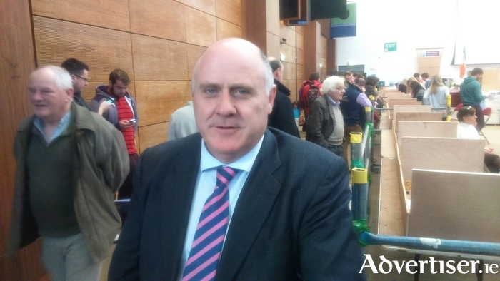 The second man elected for Galway West, Independent TD Noel Grealish. Photo:- Kernan Andrews