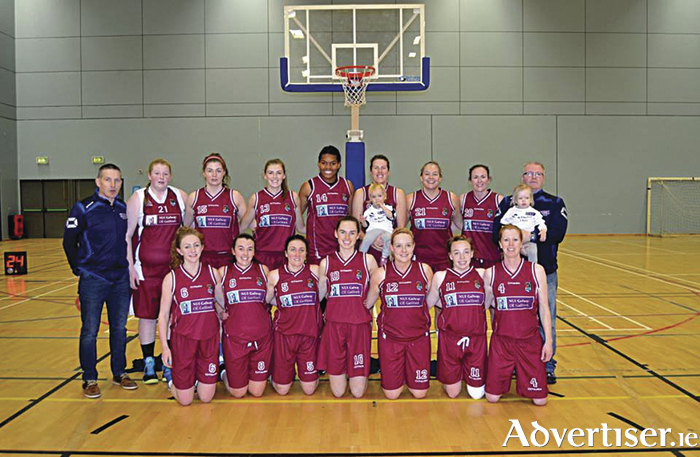 NUIG Mystics - Basketball Ireland's League and Cup winners.