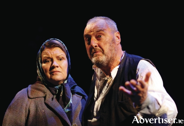 Mary McEvoy and Jon Kenny in The Matchmaker. Photo:- Tom Lawlor