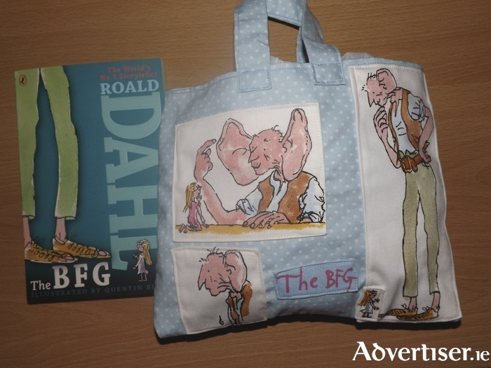A work by Lisa Stack featuring Roald Dahl's BFG.