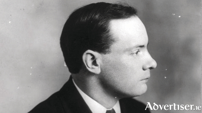 Pádraig Pearse - his poetry will be read as part of this show at NUIG.