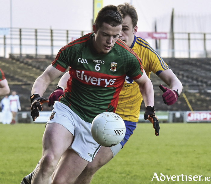 Back in the final: Stephen Coen and the Mayo u21s booked their place in the Connacht u21 final on Saturday. Photo: Sportsfile