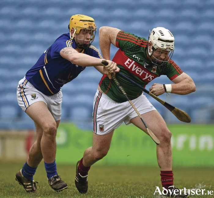 Patrick Connell will be looking to drive Mayo to victory against Armagh. Photo: Sportsfile
