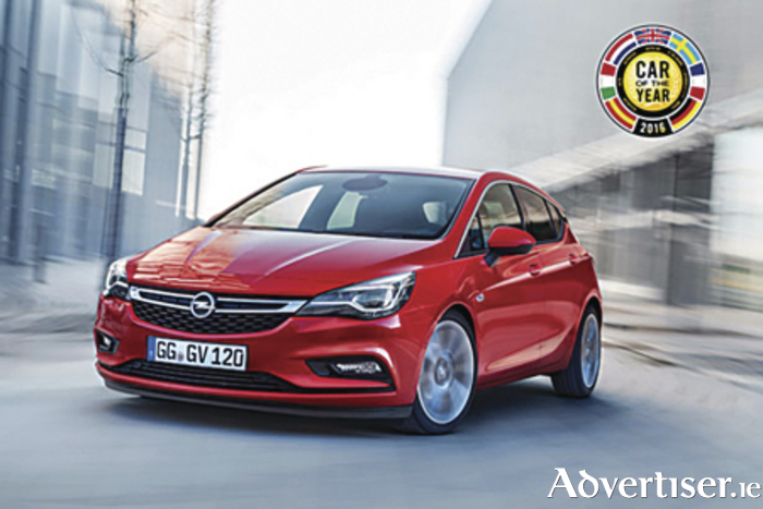 Opel Astra wins European Car of the Year.