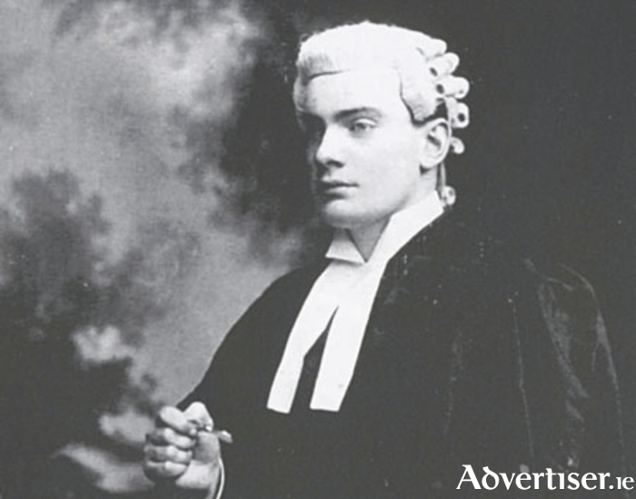Patrick Pearse: Awarded a BA in modern languages (included English, Irish and French), and photographed here when he was studying law at King's Inns. He was called to the Bar in 1901, two years before he came to Ros Muc.