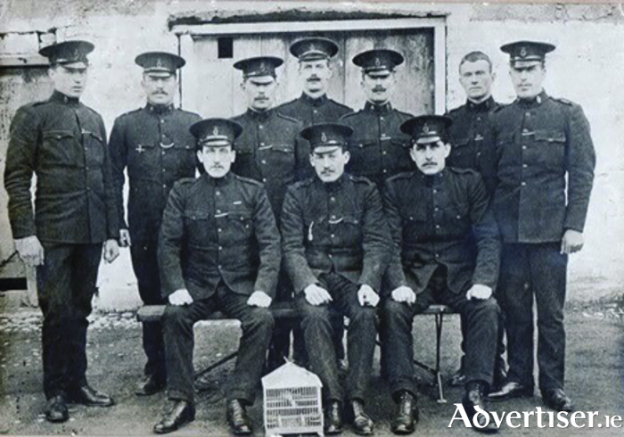 Oranmore Royal Irish Constabulary 1911
