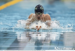 Nicholas Quinn hit the Olympic qualifying time over the weekend. Photo: Sportsfile