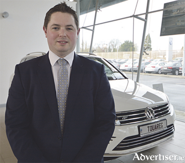 George Kenny, new Volkswagen sales executive at Michael Moore Car Sales