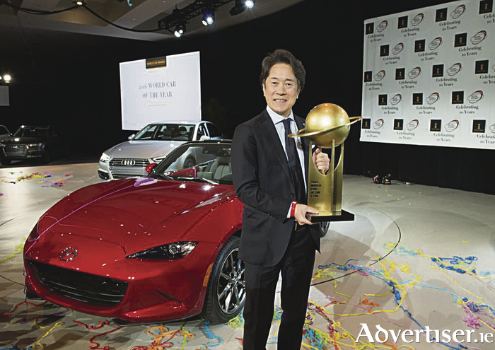New Mazda MX-5 wins 2016 World Car of the Year.