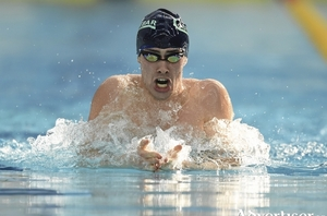 Making waves: Castlebar's Nicholas Quinn swam the Olympic qualifying time last weekend in Holland. Photo: Sportsfile
