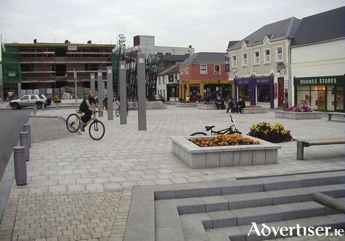 Events will take place in Market Square Castlebar. Photo: Castlebar.ie