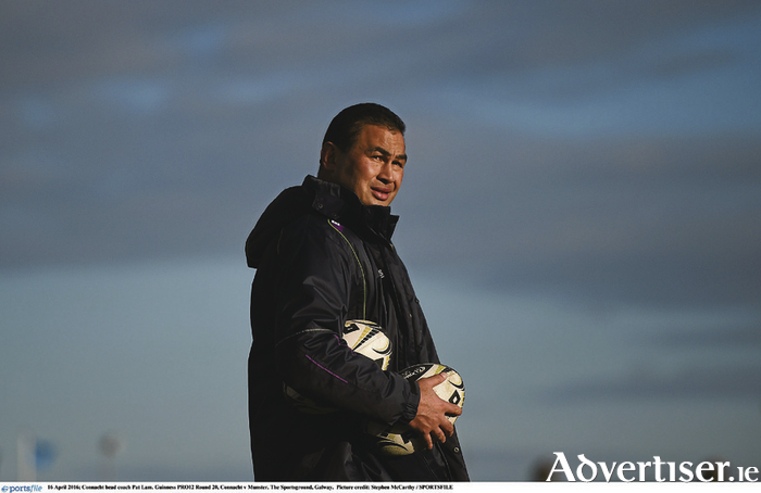 The mastermind: Pat Lam has masterminded Connacht's qualification to the Champions Cup on their own merit for the very first time. Photo: Sportsfile