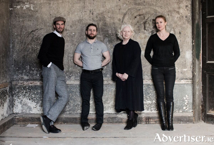 The cast of The Beauty Queen of Leenane. Photo:- Matthew Thompson