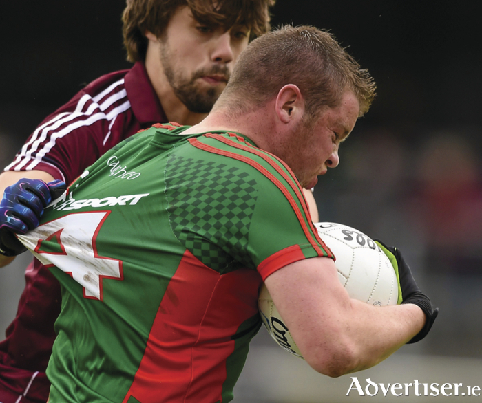 Lessons to be learned: Mayo captain Andrew Farrell knows that Mayo have to up their game for the Connacht junior final. Photo: Sportsfile