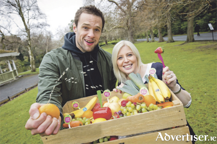 Bressie and Aoife Hearne were on hand to launch the Mace 'Right Options' initiative recently