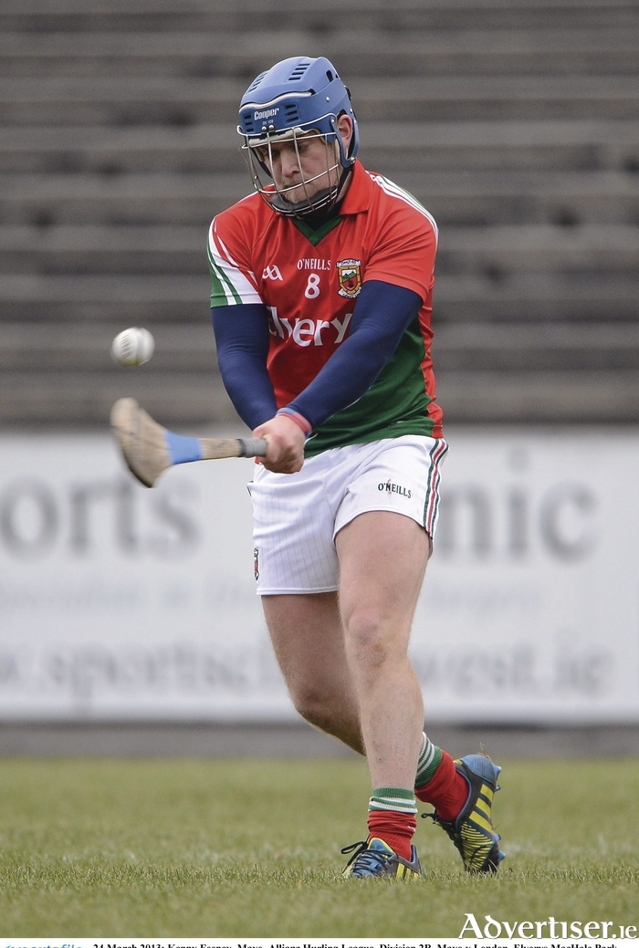 Pointing for success: Mayo will be looking for Kenny Feeney's point taking ability to help them over the line tomorrow. Photo: Sportsfile.
