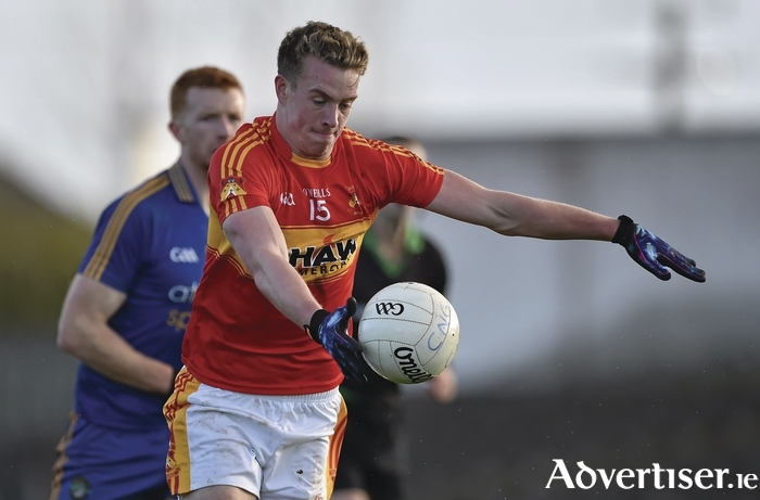 Three of the best: Danny Kirby and Castlebar Mitchels hit the ground running last weekend. Photo: Sportsfile