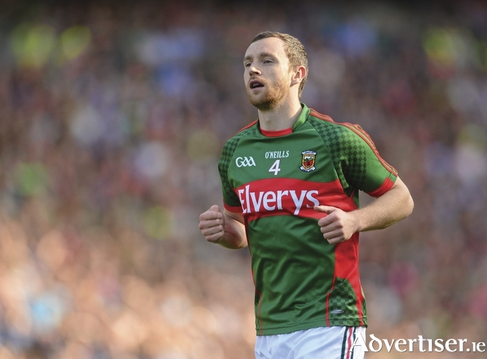Hurling for glory: Keith Higgins will line out at centre-half-forward for the Mayo senior hurlers on Saturday. Photo: Sportsfile.