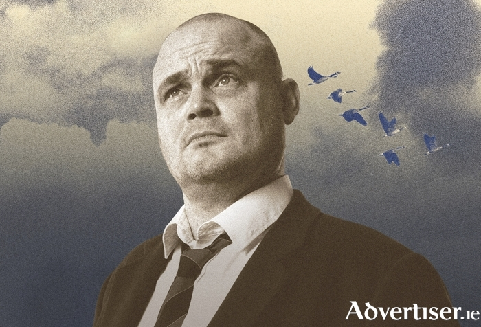 Al Murray in Churchillian mode.