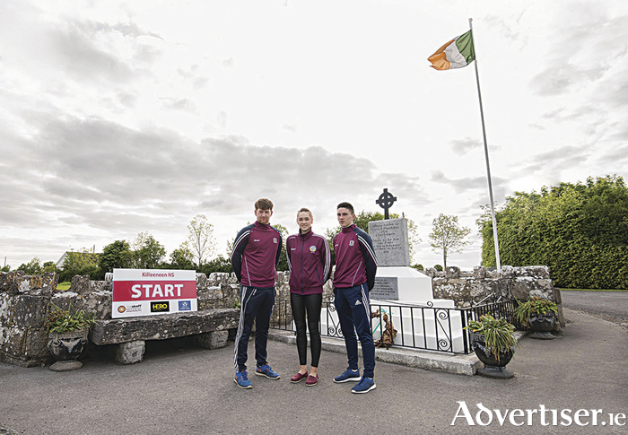 The race launch took place at the Liam Mellows monument in Killeeneen and was attended by All Ireland County hurling and camogie winners (and also past pupils of Killeeneen National School), Ian O'Brien, Carrie Dolan and Evan Niland.