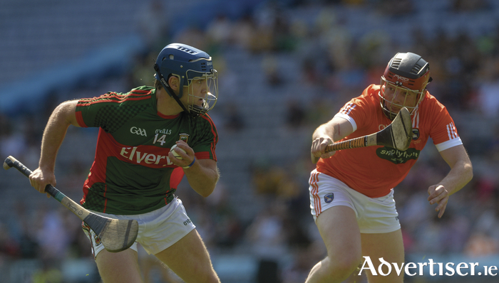 Goal King: Kenny Feeney was the main man for Mayo last Saturday. Photo: Sportsfile.