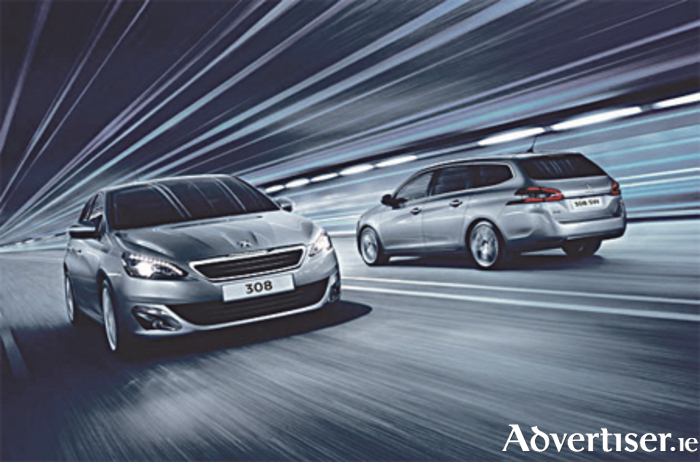 The award-winning Peugeot 308 hatch and SW range