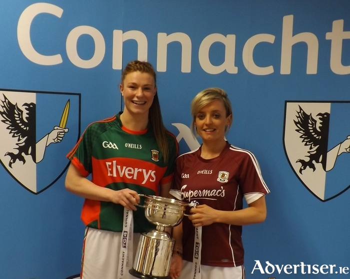 Up for the cup: Mayo's Aileen Gilroy Mayo and Galway's Edel Concannon will be doing battle on Sunday for the Connacht title.