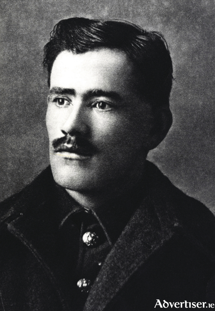 Francis Ledwidge, 'And I shall steal behind / And lay my hands upon her eyes'.