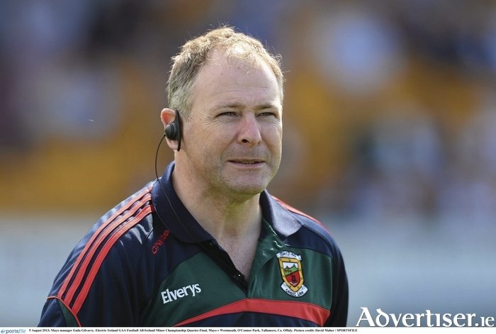Looking for number three: Enda Gilvarry will be looking to guide a third Mayo minor side to Connacht glory. Photo: Sportsfile.