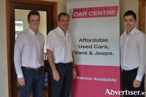 Connollys Car Centre sales team comprises Connolly Car Centre Manager John Wallace who has more than forty years' experience in the motor trade, and sales executives Darragh McCormack and Adrian Leonard.